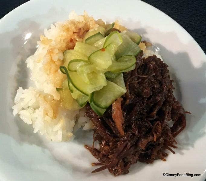Korean-style BBQ Beef