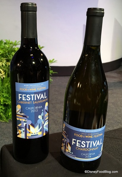 Epcot Food & Wine Festival Wines