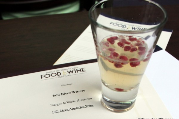 Epcot Food and Wine Festival Review: Apple Ice Wine Mixology Seminar