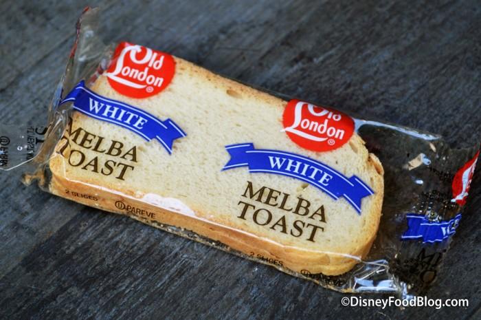 White Melba Toast