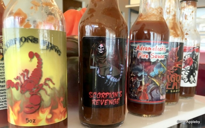 Scorpion Sting and other hot sauces