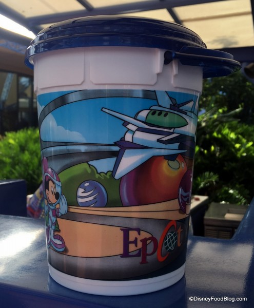 Refillable Popcorn Bucket at Epcot
