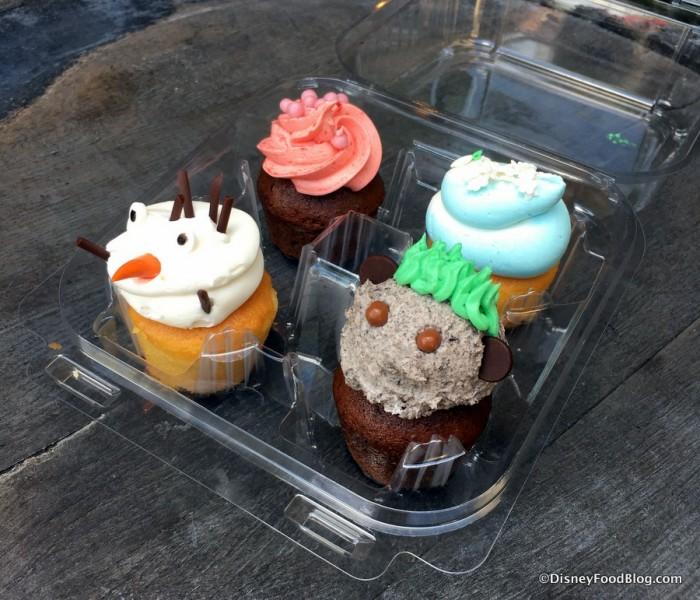 Frozen Mini Cupcakes