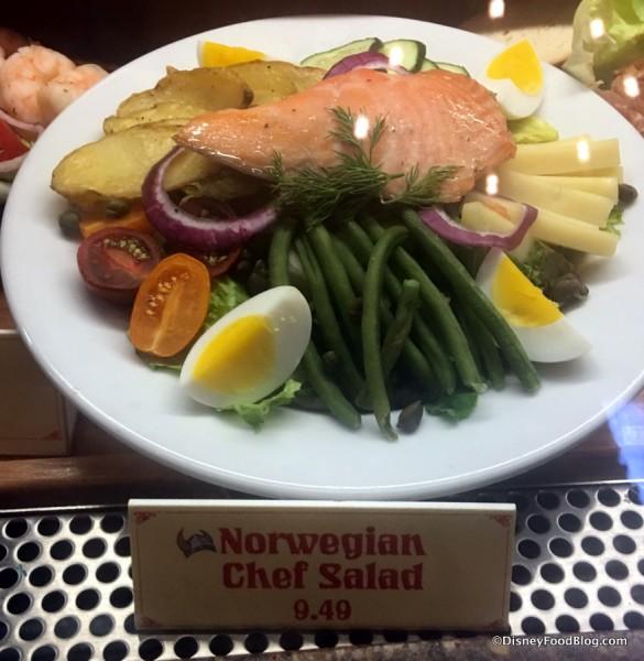 Norwegian Chef Salad