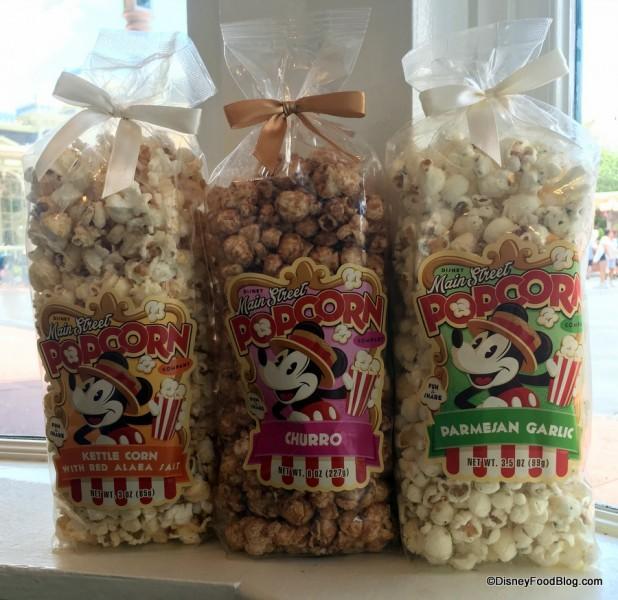 Main Street Popcorn Flavors