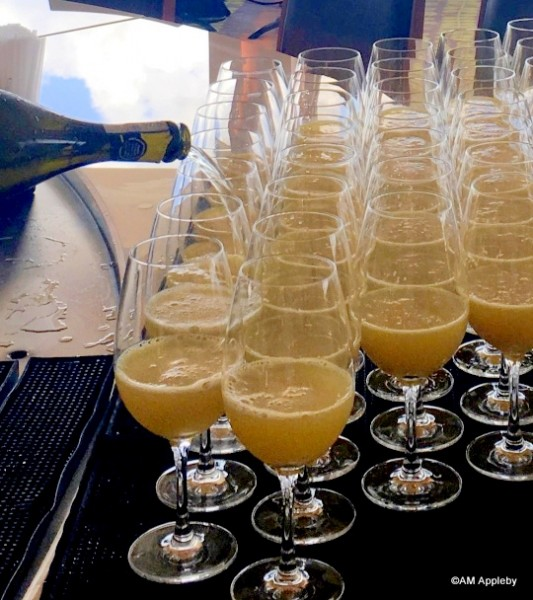 Complimentary Mimosas