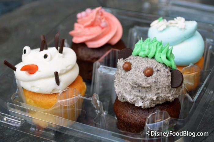 Mini Frozen Cupcakes