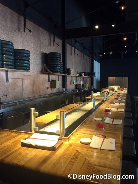 Upstairs Sushi Bar at Morimoto Asia