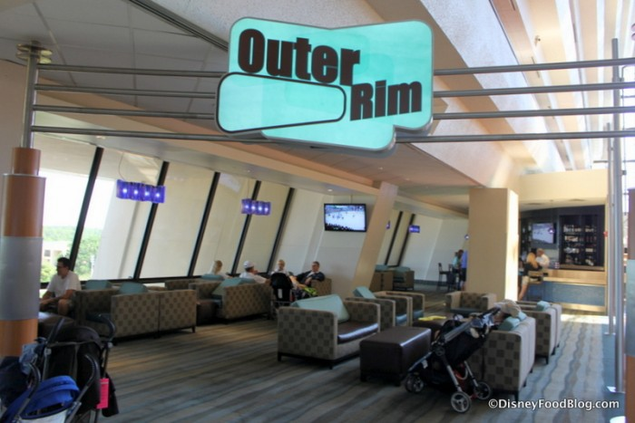 Outer Rim Lounge at Disney's Contemporary Resort