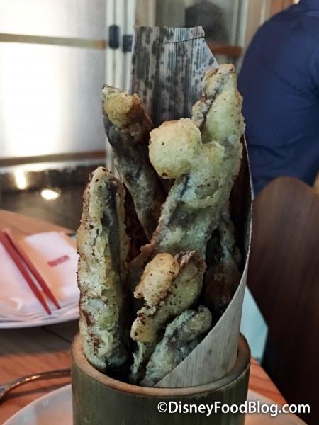 Portobello Mushroom Fries