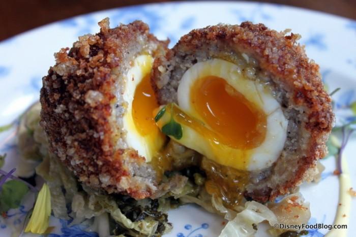 An Irish Egg -- Cross Section