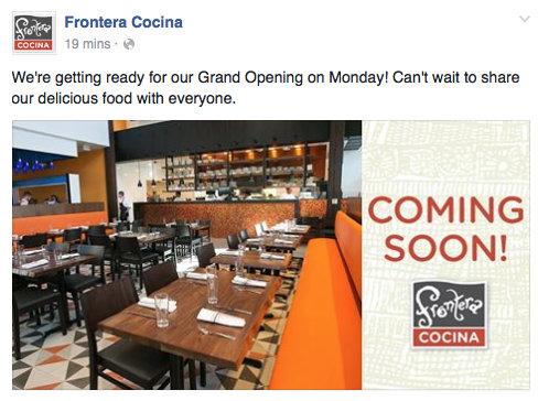 @Frontera Cocina via Facebook