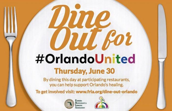 Dine Out for #OrlandoUnited via the Morimoto Asia Facebook Page