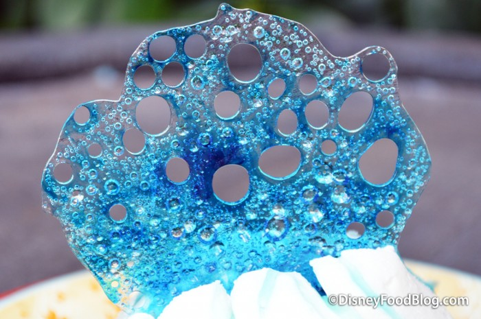 Blue Hard Candy Topper