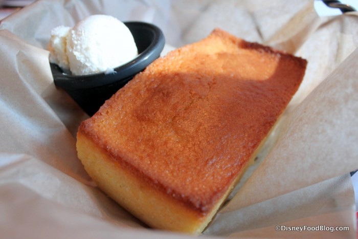 Cornbread with Butter