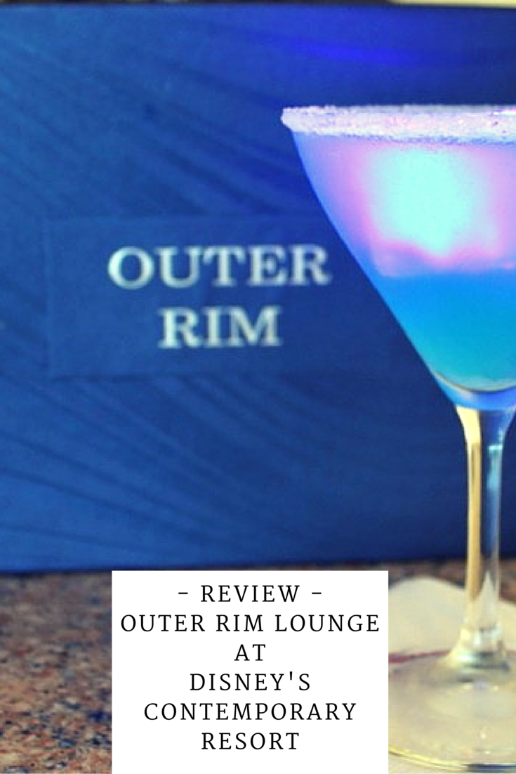 A Review of Outer Rim Lounge at Disney's Contemporary Resort