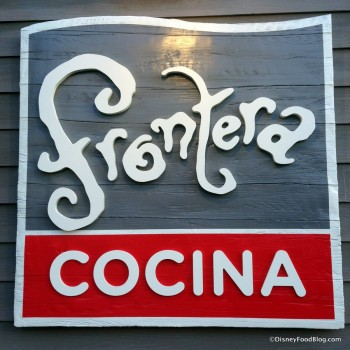 Frontera Cocina sign