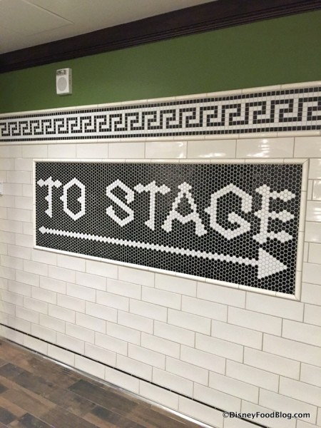 """To Stage"""
