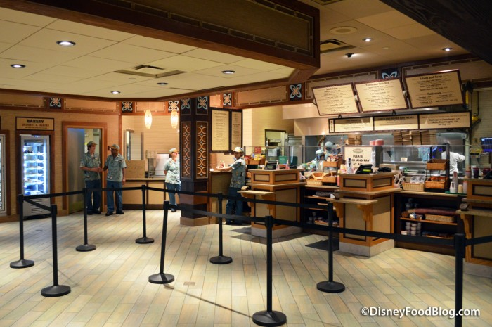 Captain Cook's Ordering Area