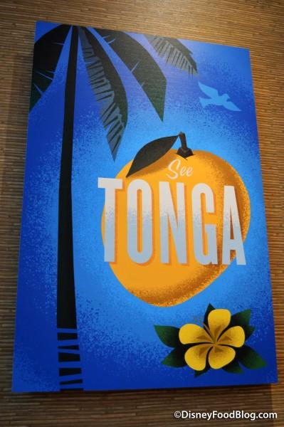 Tonga Travel Poster