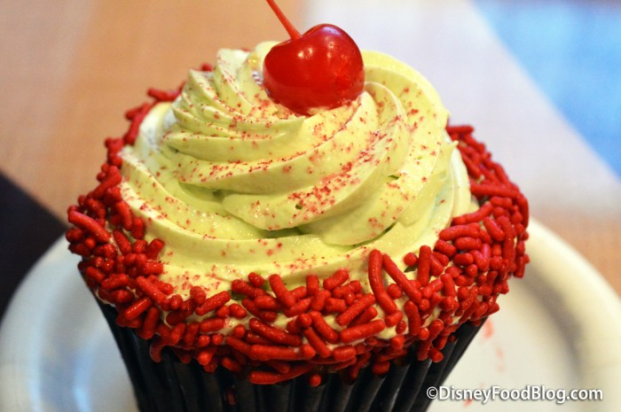 Cherry Cupcake Closeup