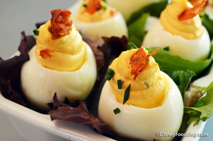 Church Lady Deviled Eggs -- Up Close