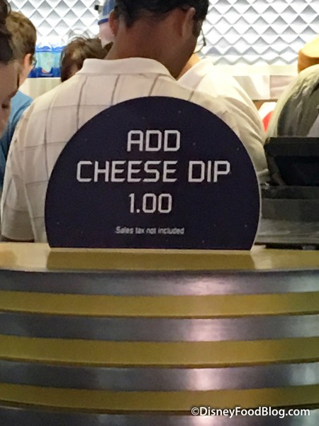 Cheese Dip Add On