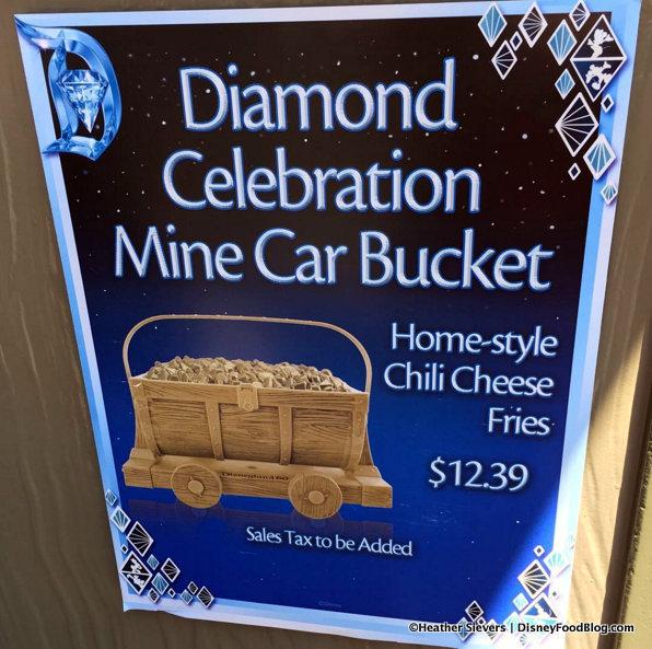 Diamond Celebration Mine Car Bucket