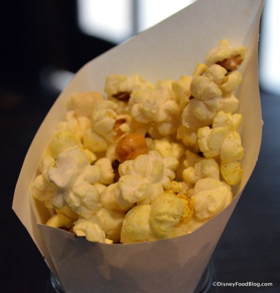 Curry-dusted Popcorn and Chickpeas