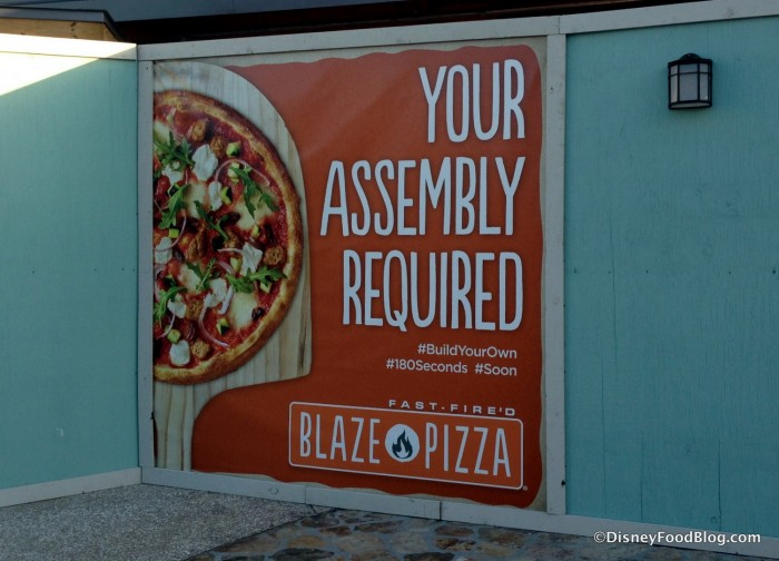 Blaze Fast Fire'd Pizza Coming Soon