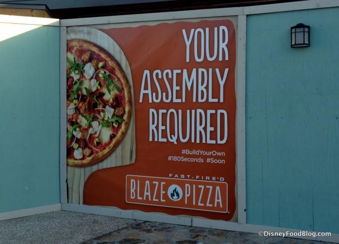Blaze Fast Fire'd Pizza Coming Soon