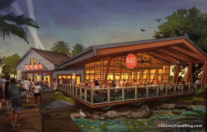 Blaze Fast Fire'd Pizza Concept Art posted in Disney Springs