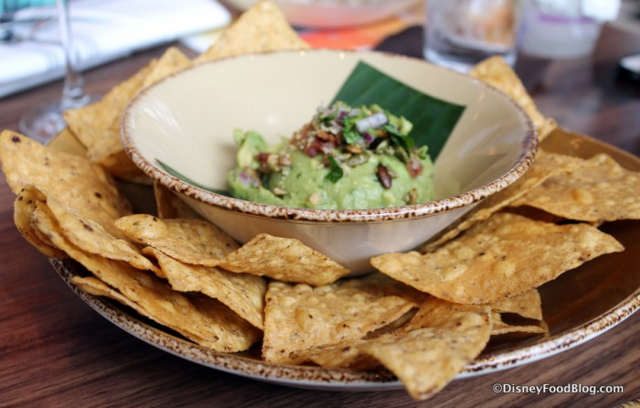 Bacon Guacamole with Chips at Frontera Cocina