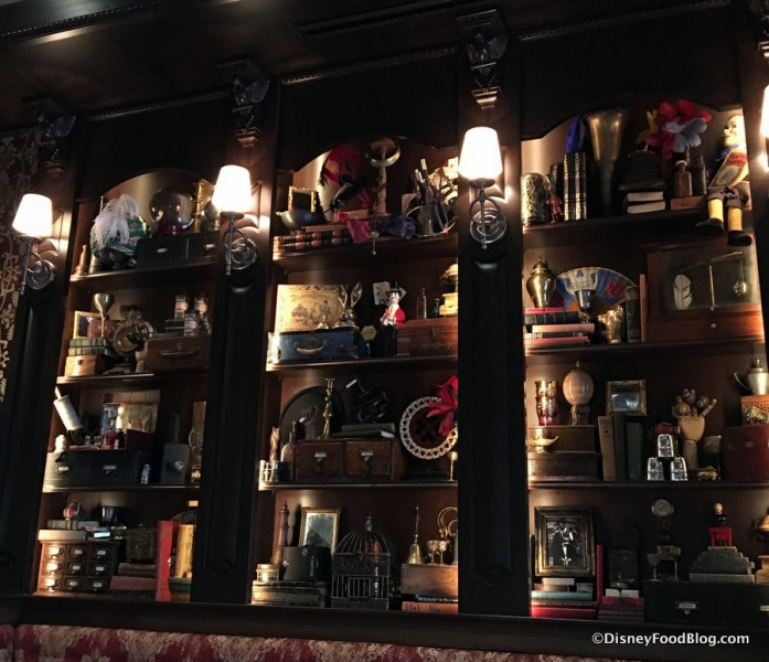 Cabinet full of props