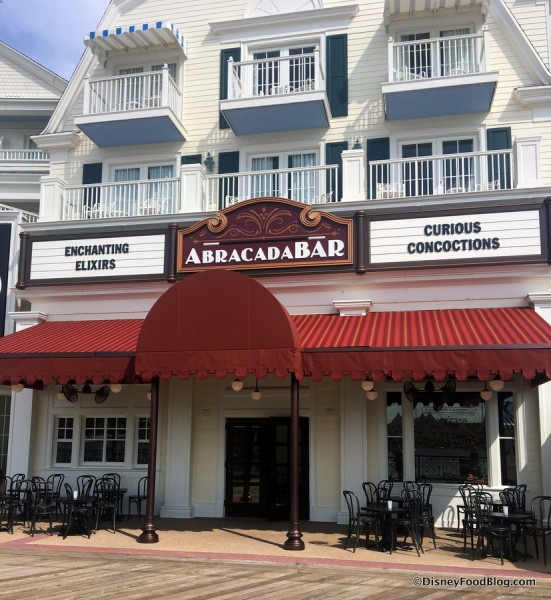 AbracadaBar at Disney's BoardWalk