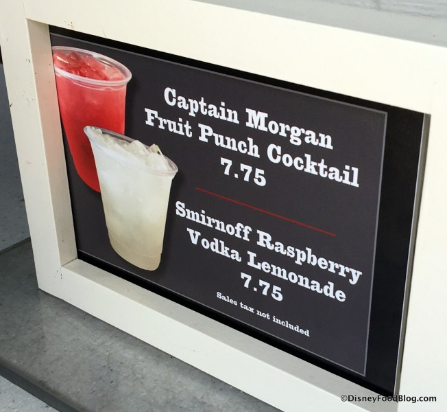 New Adult Drinks at Fairfax Fare
