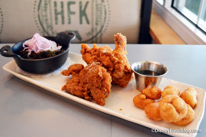 Fried Chicken and Doughnuts