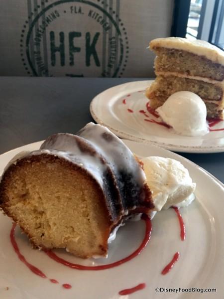 Shine Cake and Hummingbird Cake