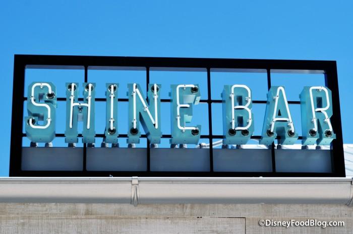 Shine Bar Sign
