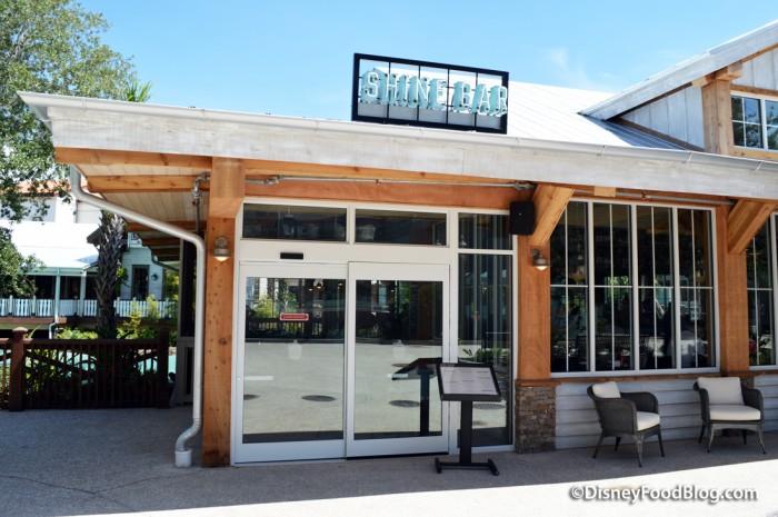 Shine Bar Exterior