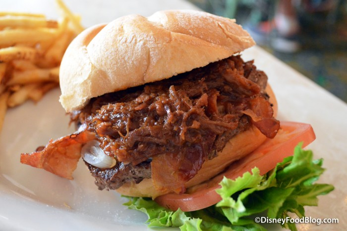 Honey Barbecue Beef Brisket Burger