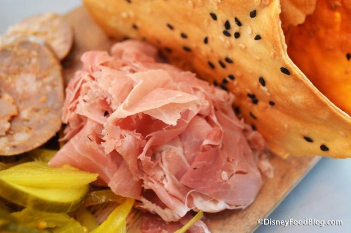 Jasper Board -- Shaved Ham