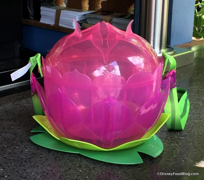 Lotus Blossom Popcorn Bucket