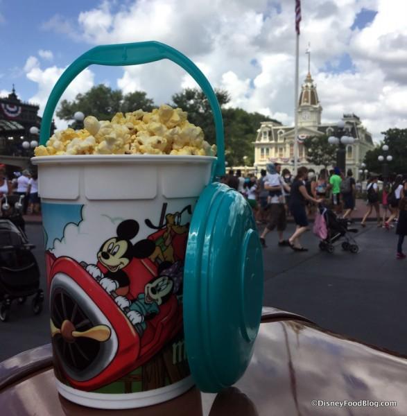 Magic Kingdom refillable Popcorn Bucket