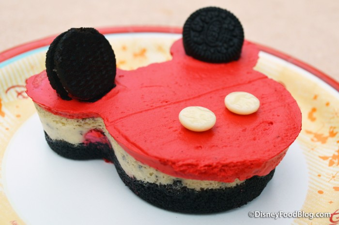 Mickey Oreo Cheesecake