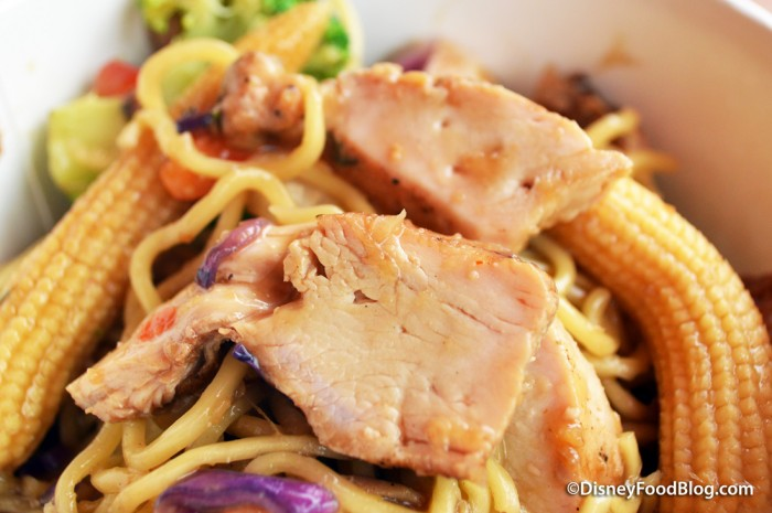 Pan Asian Noodles closeup