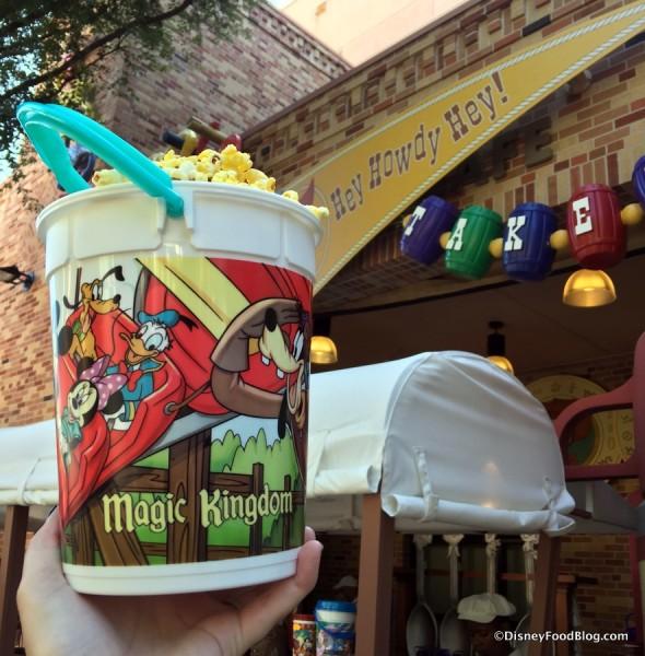 Magic Kingdom Bucket Refilled at Hollywood Studios