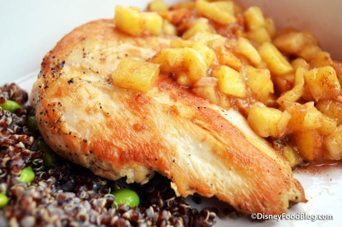Seared Chicken Breasts