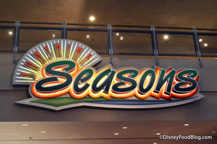Sunshine Seasons sign