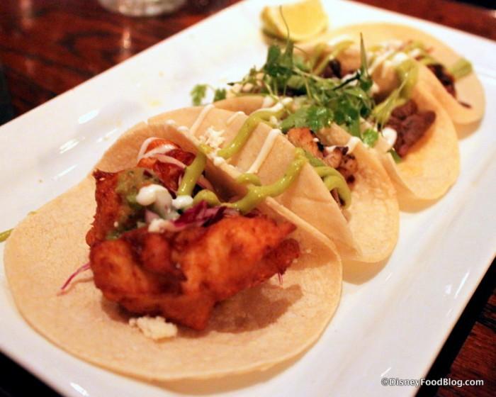 Taquiza Sampler of Tacos